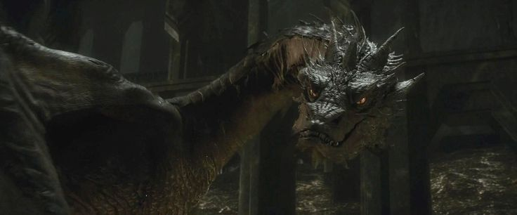 Here is a shot of Smaug from The Hobbit: Desolation of Smaug.