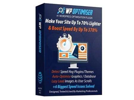 WP Optimiser – what is it? WP Optimiser is a unique plugin that optimises your WordPress site peak performance. It's essential to optimise sites for higher rankings, better conversions, better user experience, lower bounce rates & lowering  your ad spend.