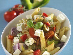 Szicíliai tésztasaláta recept