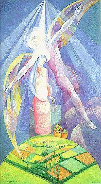 Ángel Zárraga - Anunciación