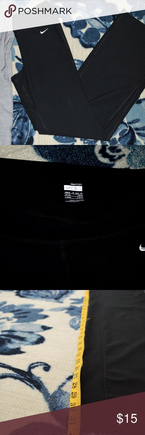 Nike yoga pants Nike yoga pants in great condition! Only worn one or two times! Nike Pants Boot Cut & Flare