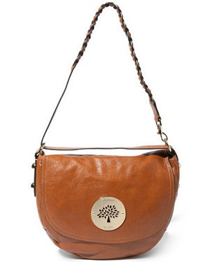 """Mulberry """"Daria"""" Leather Satchel"""