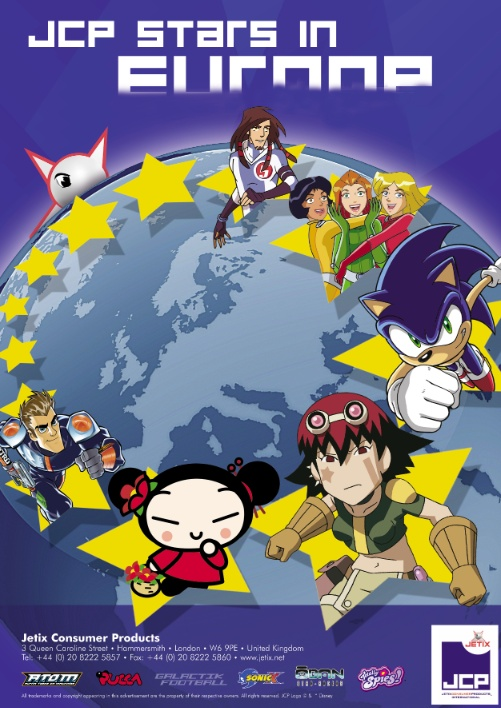 Jetix Customer Products. Cartoon crossovers