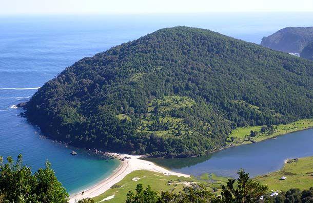 Caleta Condor, Los Lagos Region, Chile.