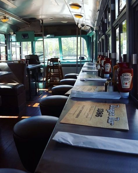 "A cool place to eat in GA. ""But to even up the cool factor ever more, you can actually eat inside the old trolley for a one-of-a-kind dining experience."""