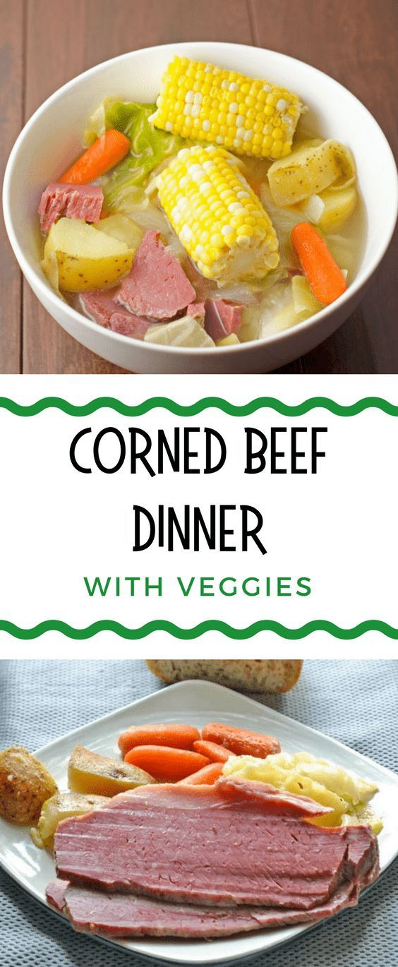 Easy Corned Beef Dinner With Vegetables Recipe - Full of all the flavors you love on St. Patrick's Day but delicious all year long.