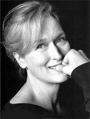 Meryl Streep, the goddess.