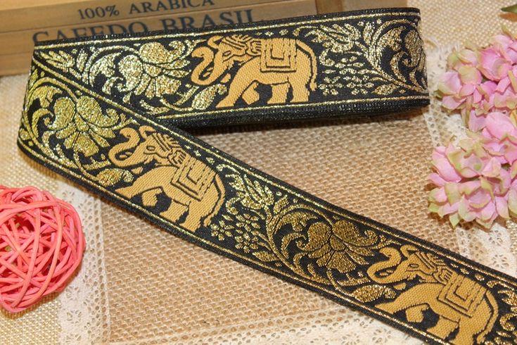 Ucuz 10 yards/lot geniş 3.9 cm Dokuma Jakar Şerit altın Fil tasarım perde ve giyim aksesuar için LS 0948, Satın Kalite şeritler doğrudan Çin Tedarikçilerden: 1 yard=0.91 metreMalzeme: polyesterBant genişliği: 3.9cmFazla metre, benimle irtibata geçin.@if Aradığınız belirli bir ö