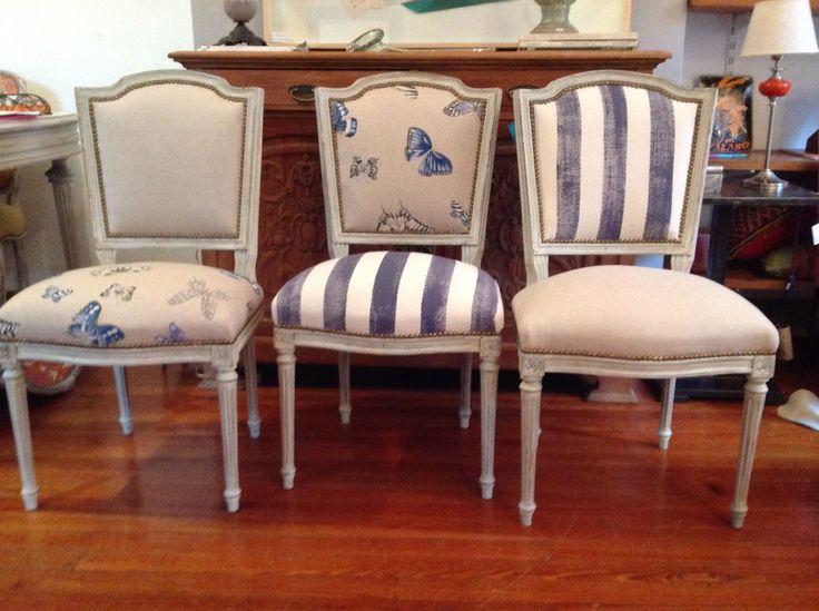 Best 25 tapizar sillas comedor ideas on pinterest for Tapizar sillas de comedor