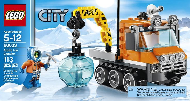 LEGO City Arctic Ice Crawler 60033 - Discount Toys USA