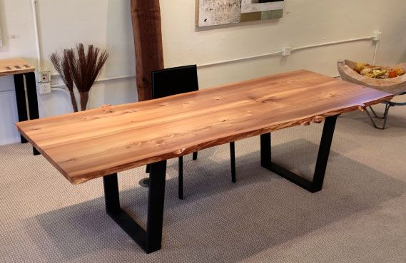 english elm bookmatched tabletop