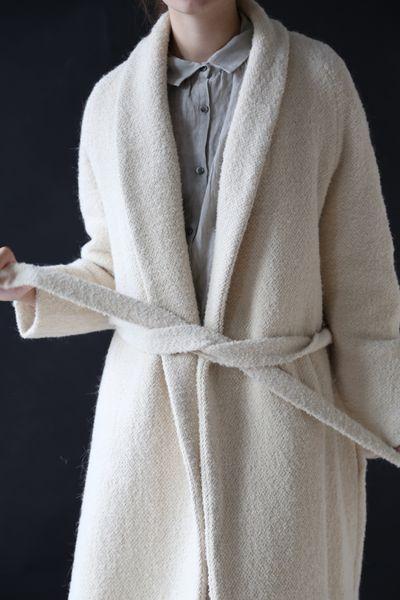 Samuji Italy Coat Ecru