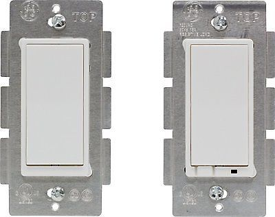 Jasco Z-Wave Wireless Lighting Control 3-Way On/Off Light Switch Kit, White
