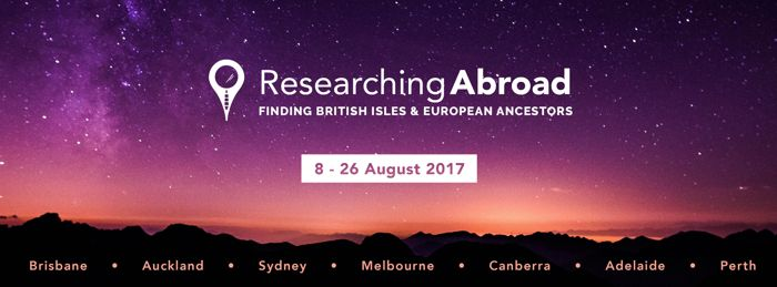 "Unlock the Past's ""Researching Abroad Roadshow"" BOOK NOW - Genealogy & History News"