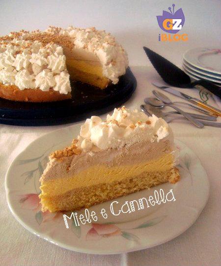 Torta gelato zabaione e caffè senza gelatiera