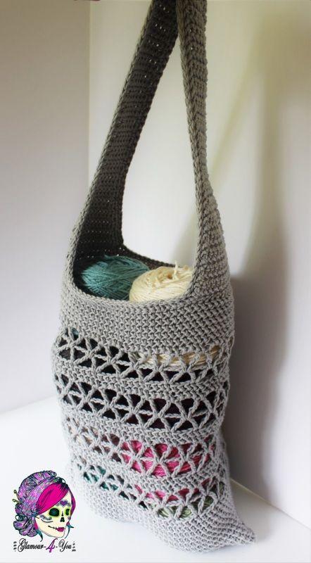 Crochet Market Bag - FREE pattern!