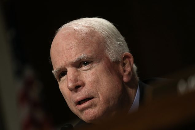 """10/28/15 John McCain: Bernie Sanders, Not Hillary Clinton, Has Record of Advocacy for Vets. McCain claimed Clinton had no such credentials during her tenure in the Senate between 2001 and 2009. """"To my knowledge, I know of no activity, legislative or otherwise, that (she) was engaged in during her time as United States senator. I don't see how any veteran who cares about their fellow veterans could possibly have any good things, nor could support, her quest for being commander-in-chief."""""""
