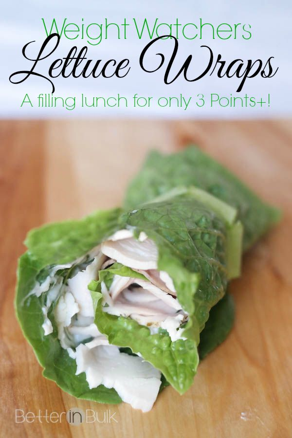 Weight Watchers Lettuce Wraps for Lunch {3 PointsPlus}