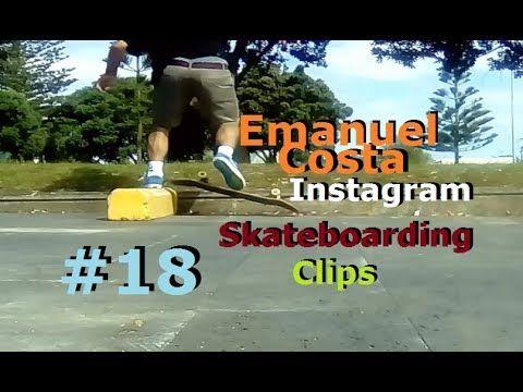 Emanuel Costa -  Instagram Skateboarding Clips 18