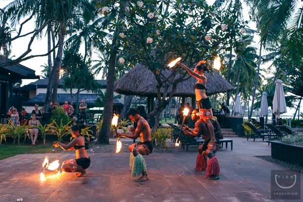 Great information on what our hotel has to offer! Cultural show at night and free bus between all 3 Starwood resorts.