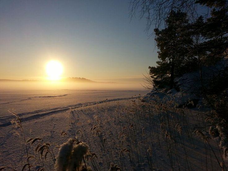#Heponiemi 16.1.2016, #Puujärvi #Karjalohja #Finland Picture: Jaana Perheentupa