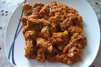 Hähnchen-Möhrchen-Kurkuma-Pfanne, ein gutes Rezept aus der Kategorie Schnell und einfach.