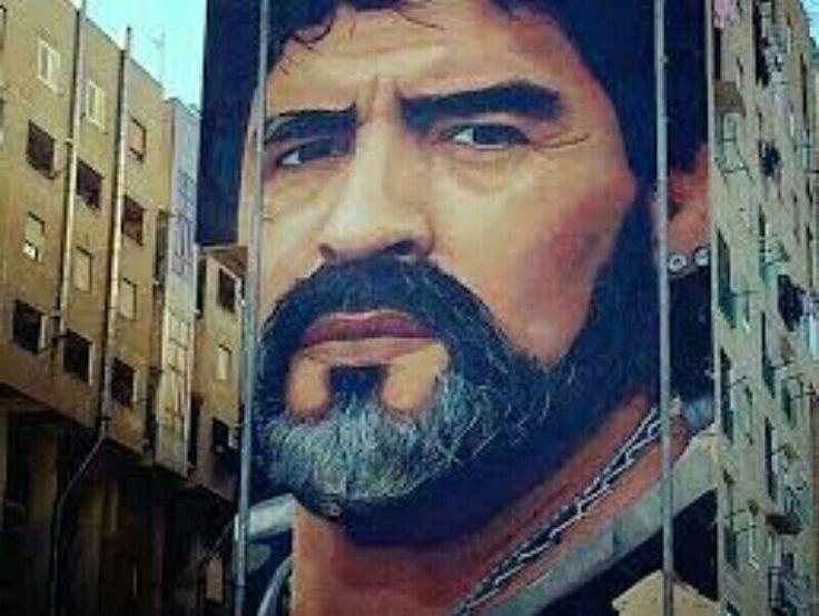 Jorit Agoch - Napoli, Maradona