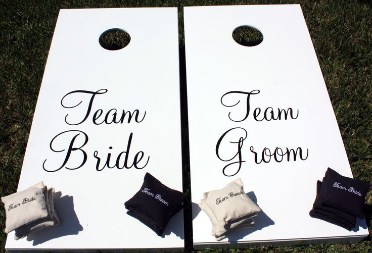 Great game for weddings! www.embellishedembroidery.com