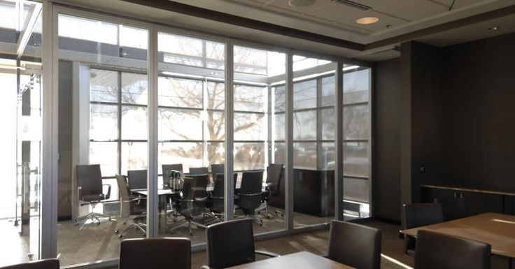 A Physical Barrier With Daylighting Properties Make Folding Glass Partitions The Ideal Choice