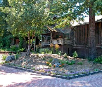Corks Restaurant at Russian River Vineyards in Forestville. We had a great lunch here. Nice outdoor dining.