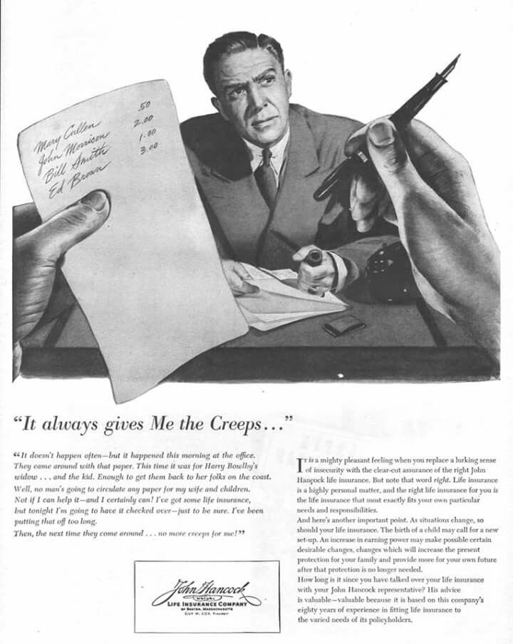 John hancock 1944 mutual life insurance life insurance