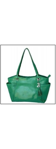 Wing Tote Leather Bag