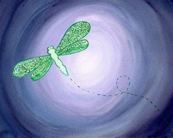 Rescued Original watercolor painting por klbaileyART en Etsy