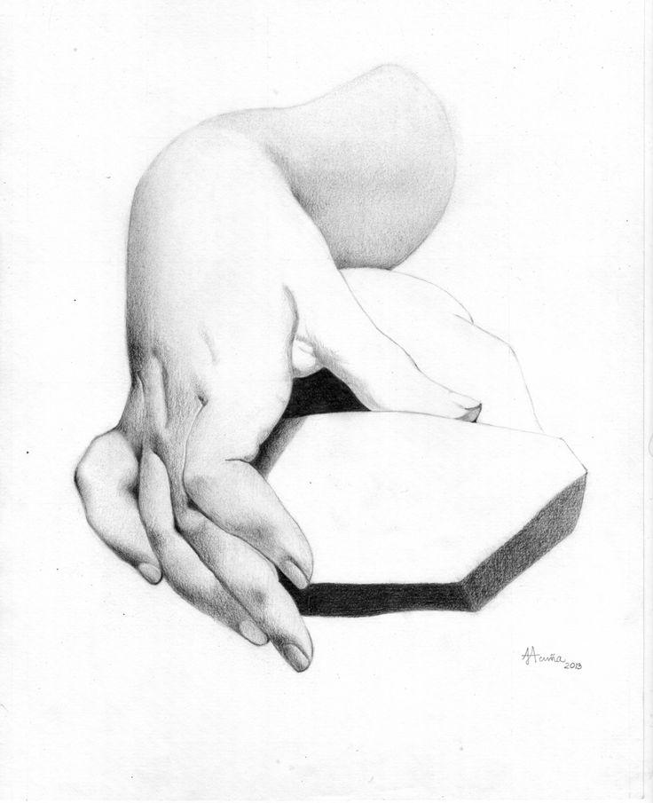Curso de dibujo Charles Bargue. Lápiz sobre papel.