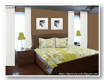 Best 25 brown bedroom decor ideas on pinterest brown bedrooms lights on ceiling and brown - Brown and green bedroom ...