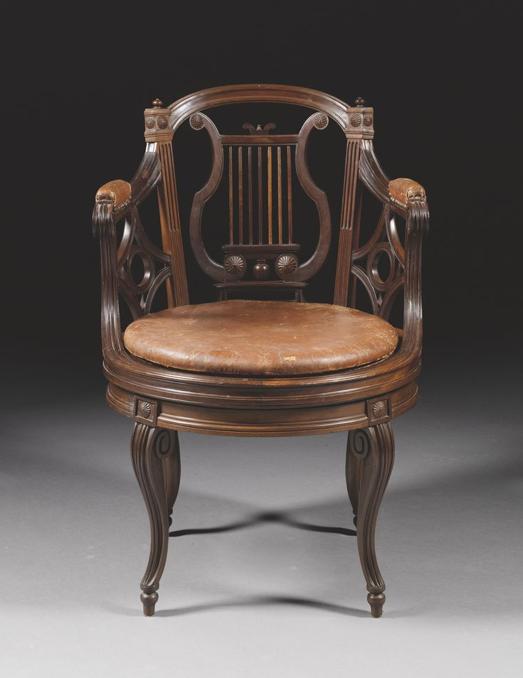 a carved mahogany fauteuil de bureau stamped g jacob louis xvi circa 1790 the tapering pierced. Black Bedroom Furniture Sets. Home Design Ideas