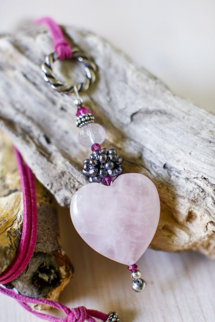 so lovely...Rosenquarz für die Liebe, Zärtlichkeit und Zufriedenheit