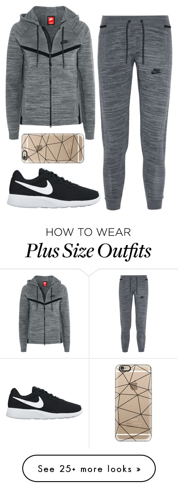 """""""Untitled #384"""" by leahgomezanderson on Polyvore featuring NIKE and Casetify"""
