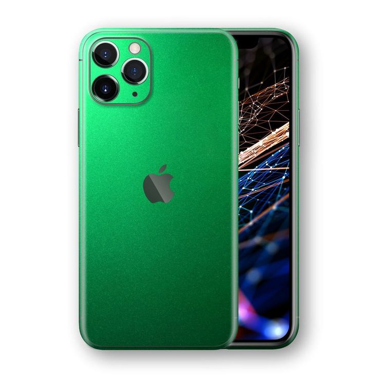 iPhone 11 Pro MAX Glossy VIPER GREEN Tuning Metallic Skin