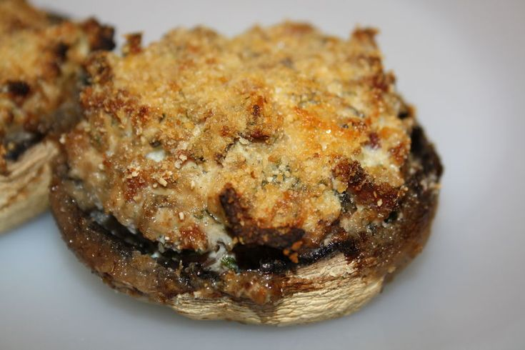 Champignons farcis (jambon/ricotta)