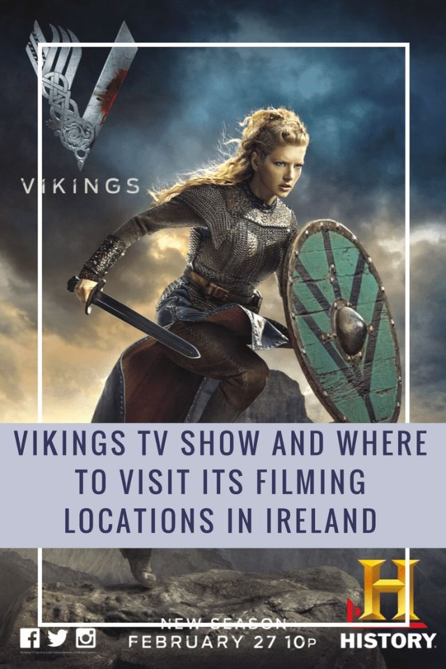 The Vikings TV drama is an epic show from the History Channel that is a joint Canadian Irish production and filmed in Ireland. #Ireland #Vikings #travel #visitingIreland #travelIreland #travelingIreland #TVshowVikings #ragnar #Lagathaxyuxu