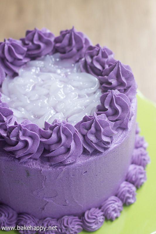 X Ube Cake Recipe