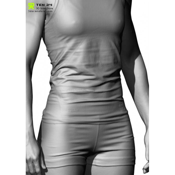 Shaded Female 04 Pose 2