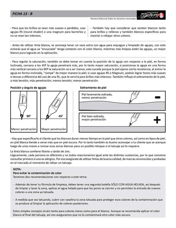 Ficha 13B / Tinta blanca 02 - Caos Tattoo | Estudio de tatuajes profesional | Tatuadores en Santiago
