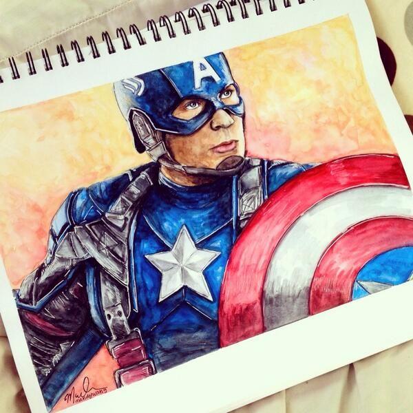 Disney You Re Amazing: Captain America And America