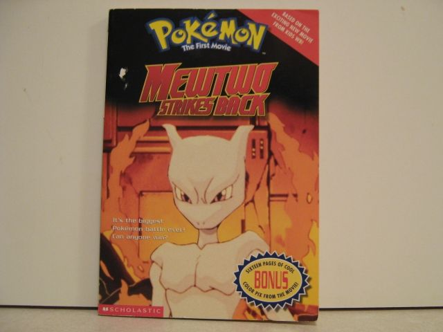 Pokémon The First Movie: Mewtwo Strikes Back Novelization