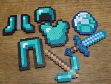 The Diamond Collection, Minecraft Magnet Set