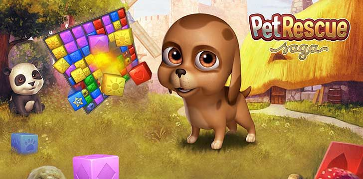 Pet Rescue Saga App Pet Rescue Saga Animal Rescue Pets