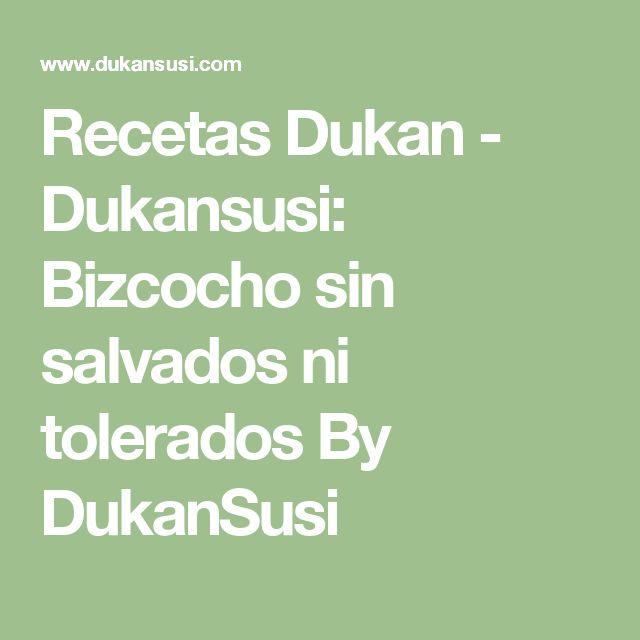 Recetas Dukan - Dukansusi: Bizcocho sin salvados ni tolerados By DukanSusi