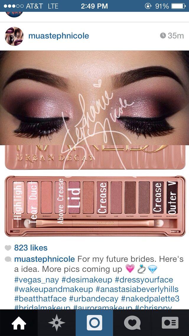 Bridal Eye Makeup Palette : Bridal Makeup BeYOUtiful Pinterest Bridal Makeup ...